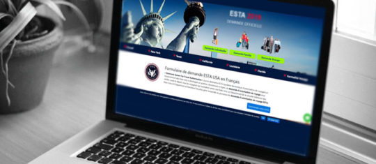 visa pour les etats-Unis en ligne